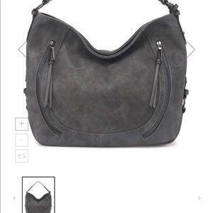 Jessica Simpson grey hobo bag/purse